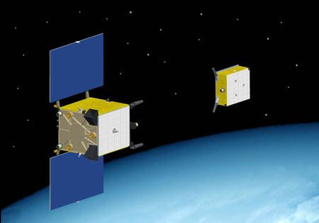 国外伴飞卫星的设计