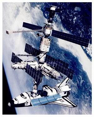 和平号空间站对接
