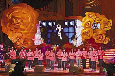 无线《我们的梅艳芳》,不少歌手发台唱阿梅的歌。