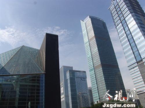 高楼林立的深圳市