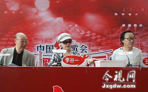 刘秉义、李谷一、王佑贵坐镇08红歌会深圳唱区评委