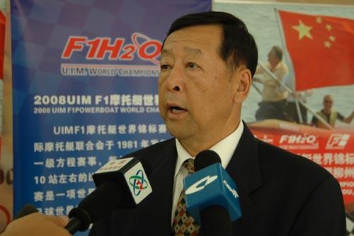 发布会后,崔大林副局长接受媒体记者采访