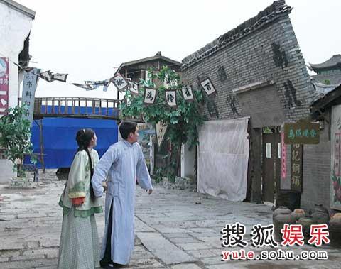 《天地不容》地震戏,墙要倒了
