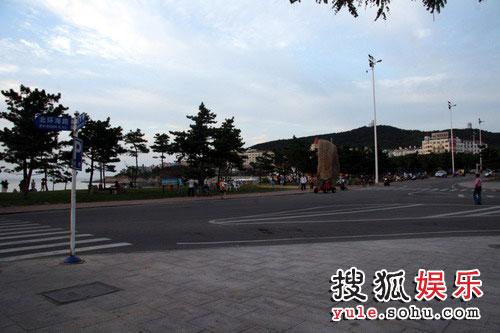 王楠与郭斌选定的婚礼地点 威海国际浴场