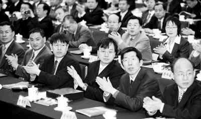 图为2006年度长江学者特聘教授、讲座教授受聘仪式暨长江学者成就奖颁奖典礼现场。