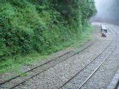 阿里山的小铁路