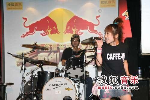能量音乐现场9月演出精彩图片 咖啡因乐队