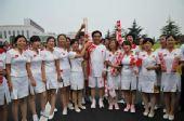 人物图片:李福成2008奥运火炬行(1)