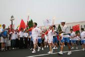 人物图片:李福成2008奥运火炬行(5)