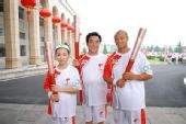 人物图片:李福成2008奥运火炬行(6)