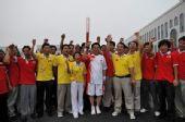 人物图片:李福成2008奥运火炬行(9)
