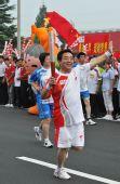 人物图片:李福成2008奥运火炬行(13)