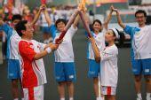 人物图片:李福成2008奥运火炬行(14)