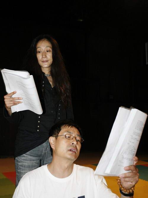 图:《哈姆雷特1990》紧张排练 47