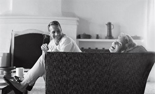 保罗-纽曼与爱妻乔安-伍德沃德的幸福瞬间- 12