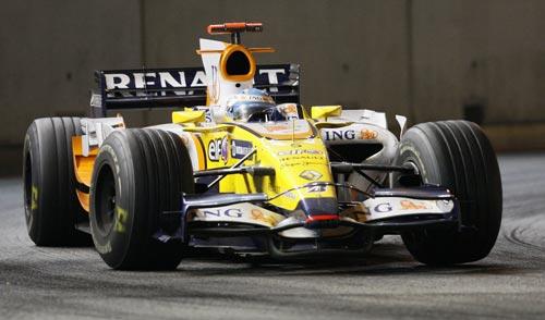 图文:F1新加坡站正赛 阿隆索赛车全景