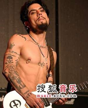 欧美当红乐队成员的个性纹身(下)