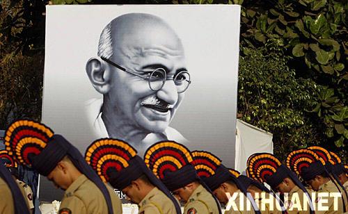1869年10月2日 印度民族解放运动领袖甘地诞辰
