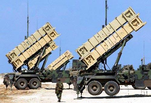 台军装备的爱国者导弹防御系统