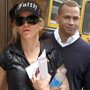 Madonna与Alex Rodriguez