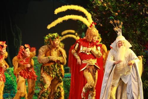"""周安信天之大谱子-""""2008中国儿童戏剧演出周""""共邀请全国13个剧院团、19台剧目、50"""