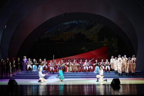 2008国际民歌博览音乐周在大剧院拉开帷幕