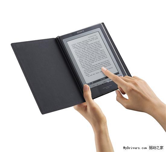 索尼推出第二代触控屏eBook电子书