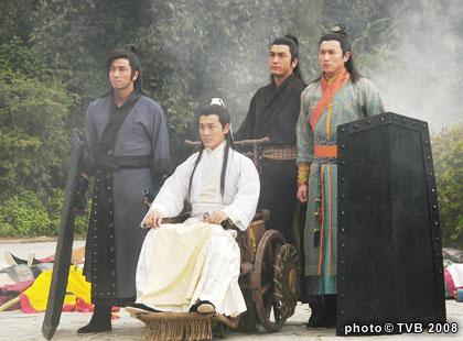剧照:电视剧《少年四大名捕》—— 03