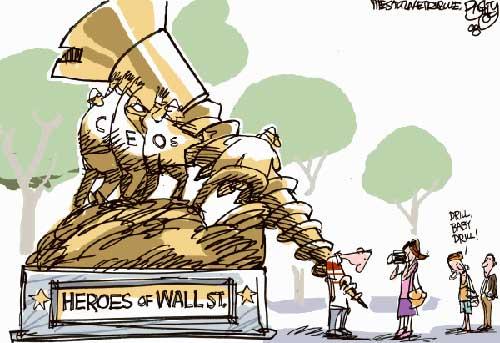 漫画:华尔街的英雄们