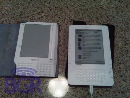 亚马逊第二代Kindle电子书阅读器露脸?(图)