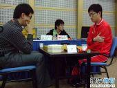组图:智运围棋男子个人半决赛 中韩高手大碰撞