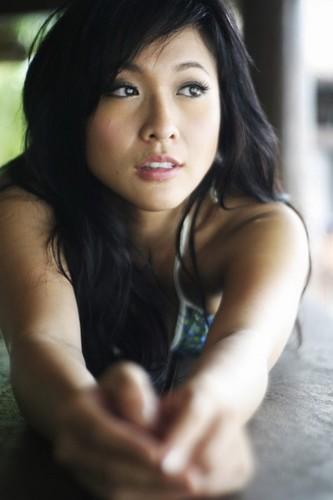 香港美女主播吴天瑜比基尼写真