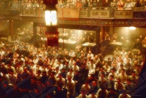 梅兰芳在舞台上,绝对的一呼百应