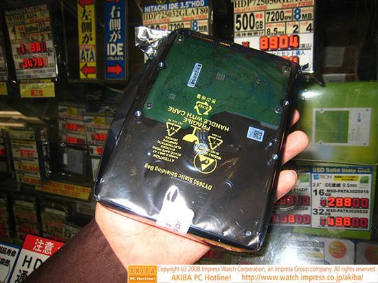 希捷1.5TB海量硬盘终于上市 1GB一块钱