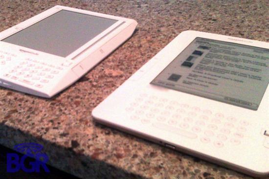 亚马逊Kindle电子书二代曝光