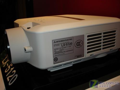 可更换镜头 三菱LX-5120新品投影到货