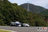 图文:F1日本站首次练习赛 海德菲尔德在比赛