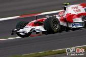 图文:F1日本站第二次练习赛 格洛克在比赛中