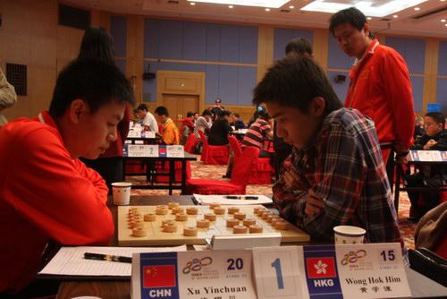 许银川象棋�:-f����,,_智运会象棋男子个人赛 许银川洪智提前锁定冠军