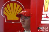 图文:F1日本站第三次练习赛 莱科宁面色凝重
