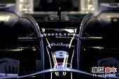 图文:F1日本大奖赛排位赛 威廉姆斯赛车车身