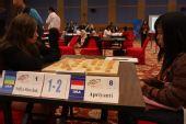 组图:智运象棋女子团体赛开战 中国取得开门红