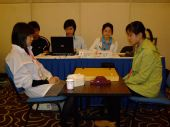 组图:围棋女子团体第4轮中国-阿根廷 日本-朝鲜