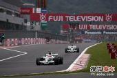 图文:F1日本大奖赛正赛 巴里切罗在比赛中