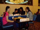 组图:女子团体第5轮 党希昀黑嘉嘉上演美女对决
