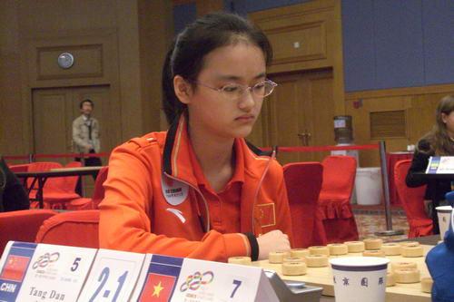 她的另一个身份,是历史上最早的一位象棋女子全国个人冠军;唐丹才18岁图片