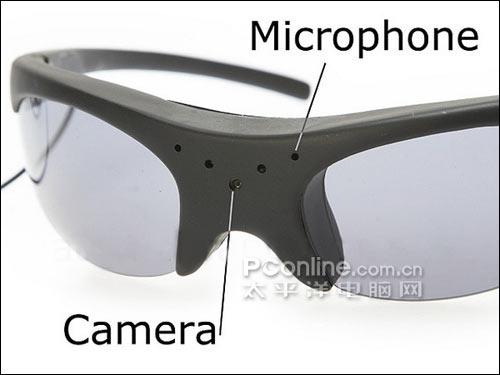 针孔摄像机眼镜