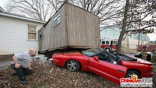 离奇的车祸 你知道是怎么发生的吗