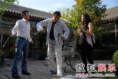 左起:林申、佟大为、林嘉欣