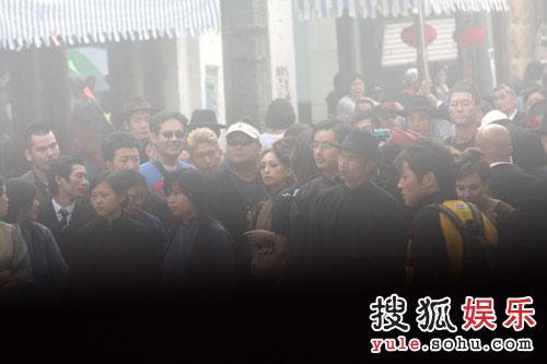 """""""上海滩街头""""拍摄"""
